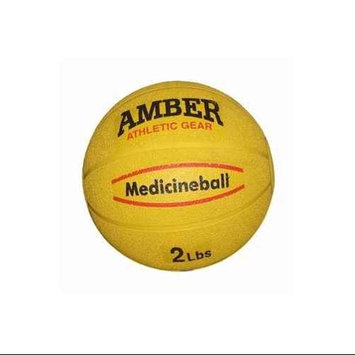 Amber Sporting Goods RMB-2 Rubber Medicine Ball 2lb