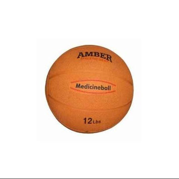 Amber Sporting Goods RMB-12 Rubber Medicine Ball 12lb