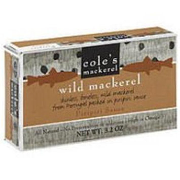 Coles Mackerel Wild Piripiri Sauce 3.2 Oz Pack Of 10