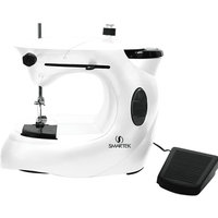 Smartek Cord-Cordless Sewing Machine with Pedal and AC Adapter