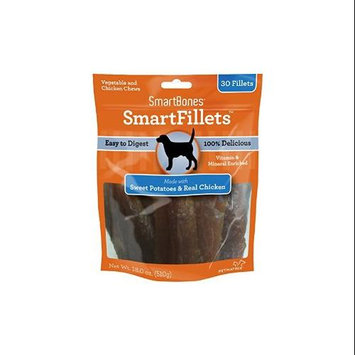 Petmatrix Smartbones Smartfillets Chews For Dogs 30 Pack-18 Oz Swt Pot-Chicken SBSF-00243