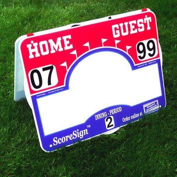 Backyard Scoreboards Llc ScoreSign Portable Soccer Scoreboard