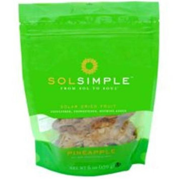 Sol Simple Llc Dried Fruit Pineapple 6 OZ (Pack of 6)
