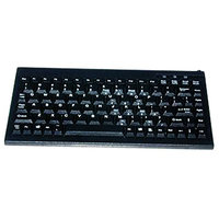 Solidtek KB-595BU Mini Keyboard - USB - Black