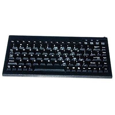 Solidtek KB-595BU Mini Keyboard - USB - Black