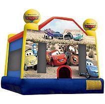 Disney Cars Inflatable Bounce House - Medium