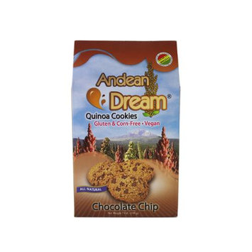 Andean Dream: 6 Chocolate Chip Quinoa Cookies, 7 oz