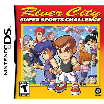 Aksys Games NDS12 River City Sports Challenge Nintendo Ds