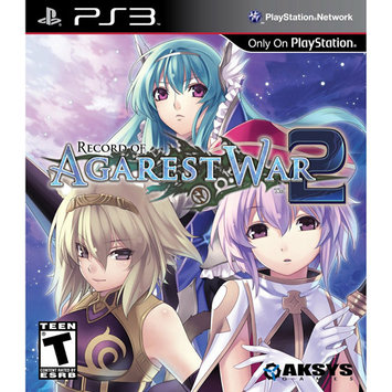 Aksys Games PS3 Record of Agarest War 2