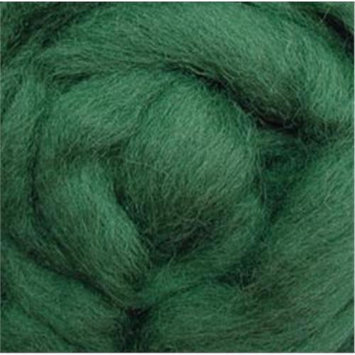 Wistyria Editions 292744 Wool Roving 12 in. .22 Ounce-Moss