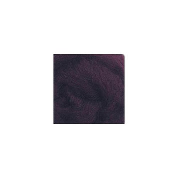 Wistyria Editions 292776 Wool Roving 12 in. .22 Ounce-Eggplant