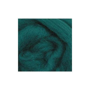 Wistyria Editions 292777 Wool Roving 12 in. .22 Ounce-Teal