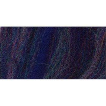 Wistyria Editions 309246 Wool Roving 12 in. .22 OunceNavy Variegated