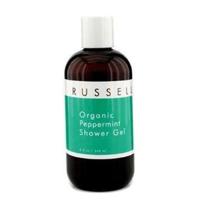 Russell Organics Organic Peppermint Shower Gel