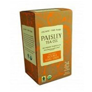 Paisley Tea Company Organic Double Earl Grey - 24 Tea Bags