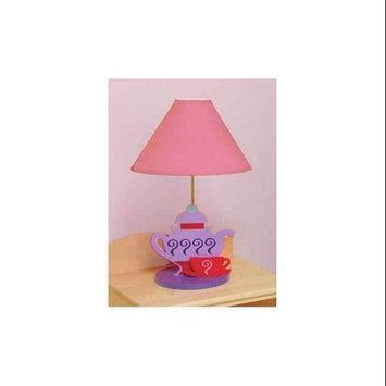 Room Magic Little Girl Teaset Lamp