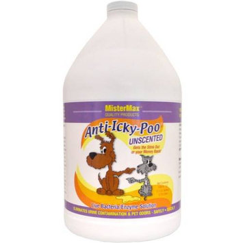 Anti Icky Poo Anti-Icky-Poo Stain & Odor Control Products 128 oz. Unscented Odor Remover AIP-UN-G