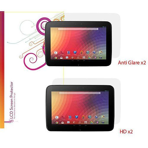 Godirect RC-NEXUS10-SCPR-AGHD Roocase Rc-nexus10-scpr-aghd Case Lcd Screen Protectors Nexus 10