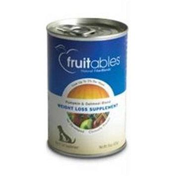 Bangalla 78839 Fruitables Pumpkin-Oatmeal Blend Dog Weight Loss- 12x15 OZ