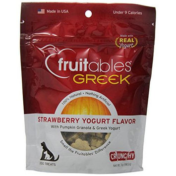 Cherrybrook Fruitables Crunchy Greek Yogurt Strawberry 7oz