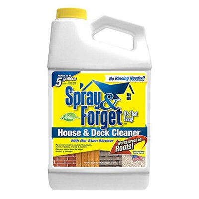 Spray & Forget Deck & House Cleaner