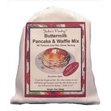 Julia's Pantry Julias Pantry JP300 Buttermilk Pancake & Waffle Mix Cloth Bag 10oz Pack of 4