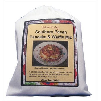 Julia's Pantry Julias Pantry JP301 Southern Pecan Pancake & Waffle Mix Cloth Bag 12oz Pack of 3