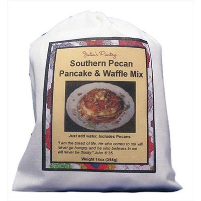 Julia's Pantry Julias Pantry JP301 Southern Pecan Pancake & Waffle Mix Cloth Bag 12oz Pack of 3