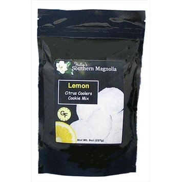 Julias Southern Magnolia SM338 Gluten Free Lemon Citrus Coolers Cookie Mix - 8oz bag Pack of 4