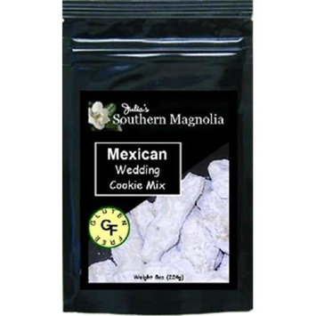 Julias Southern Magnolia SM336 Gluten Free Mexican Wedding Cookie Mix - 8oz bag Pack of 4