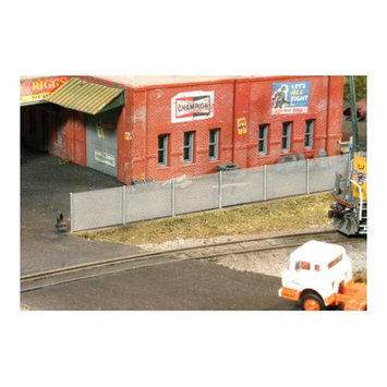 BLMA Models 4210 Chain Link Fence