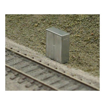 N Trackside Signal/Crossing Electrical Box (2) - BLMA MODELS - 89