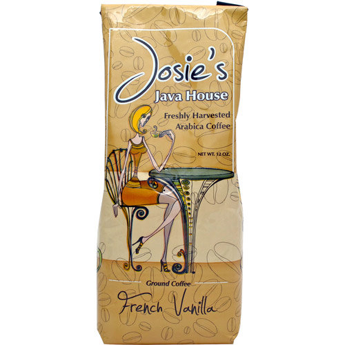 Josie's Java House French Vanilla Ground Coffee, 12 oz
