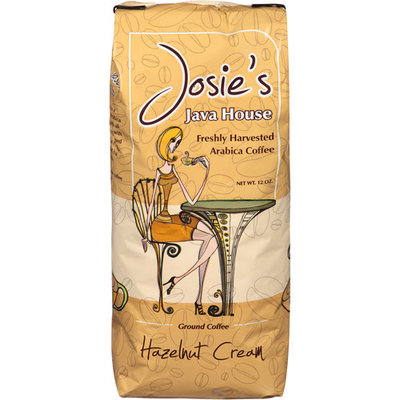Josie's Java House Hazelnut Cream Ground Coffee, 12 oz