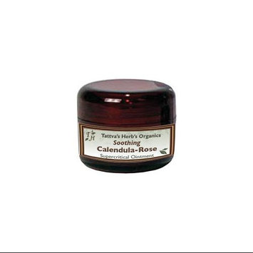 Soothing Calendula Rose Ointment Tattva's Herbs LLC. 2 oz Cream