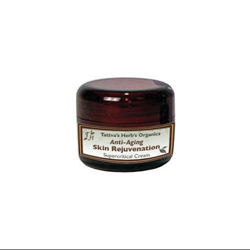 Anti-Aging Skin Rejuvenation Cream Tattva's Herbs LLC. 2 oz Cream