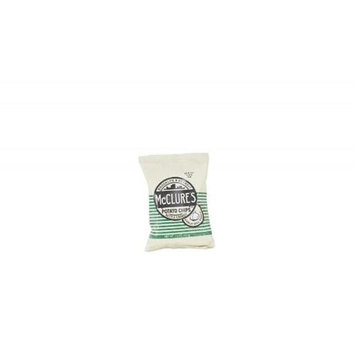 McClures Pickles Garlic Dill Kettle Potato Chips 1.5 Oz. - Pack of 44