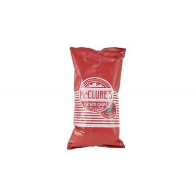 McClures Pickles Bloody Mary Kettle Potato Chips 7.5 Oz. - Pack of 20