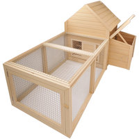 New Age Pet ECOCH101 Chicken Barn With Pen