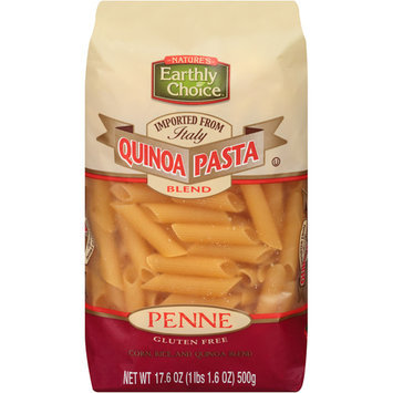 Kehe Distributors Natures Earthly Choice Quinoa Pasta Blnd Penne 17.64 OZ (Pack of 6)
