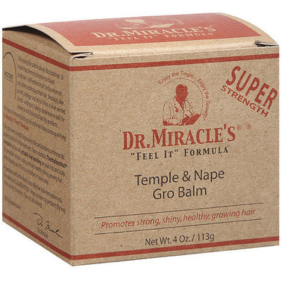 Dr. Miracle's Super Strength Temple & Nape Gro Balm - 4 Oz