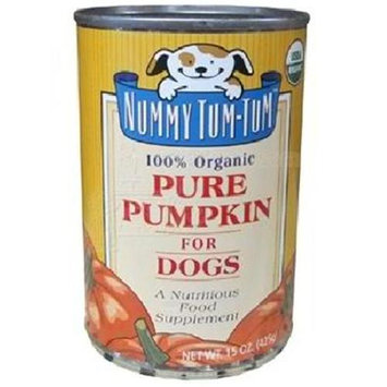 Nummy Tumtum Nummy Tum Tum Organic Can Dog Pumpkin 15 oz