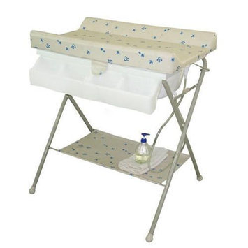 Baby Diego BB020-2 BabySpa Foldable Bathtub and Changer Combo - Beige