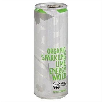 Guru Energy Drink ENERGY DRNK, OG2, SPRKL LIM, (Pack of 12)
