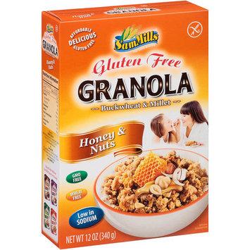 Sam Mills Granola Honey & Nuts - 12 oz