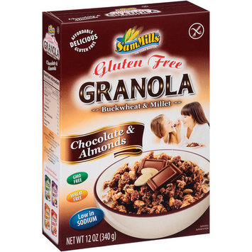 Sam Mills Granola Chocolate & Almonds - 12 oz
