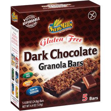Sam Mills - Gluten Free Granola Bars Dark Chocolate - 5 Bars