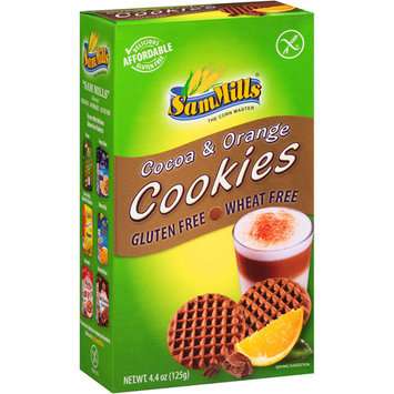 Sam Mills Cocoa & Orange Cookies, 4.4 oz