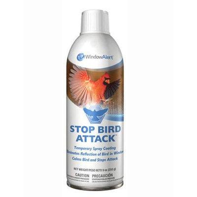 Window Alert Stop Bird Attack Window Spray