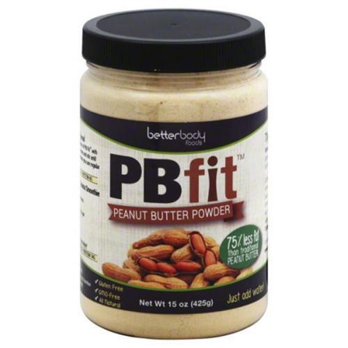 Better Body Foods PBfit Peanut Butter Powder 15 oz